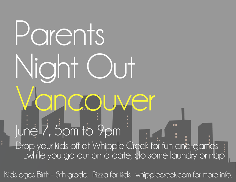 Parent's Night Out – June 7, 2013