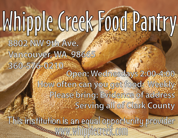 The Whipple Creek Food Pantry