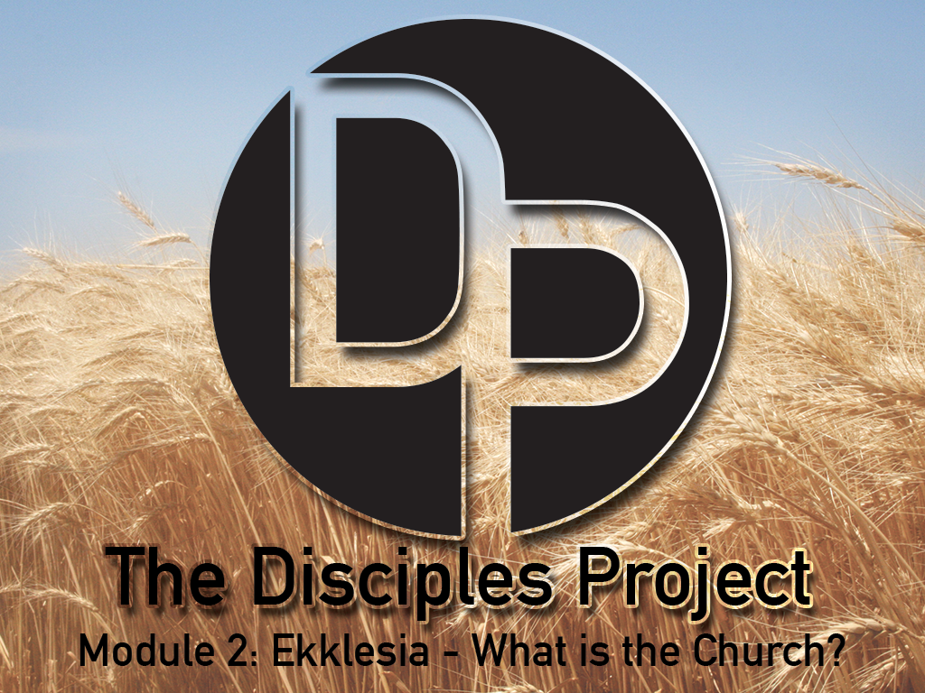The Disciples Project, Module 2: When everyone plays their part, and our defining characteristic is love, we will make a difference.