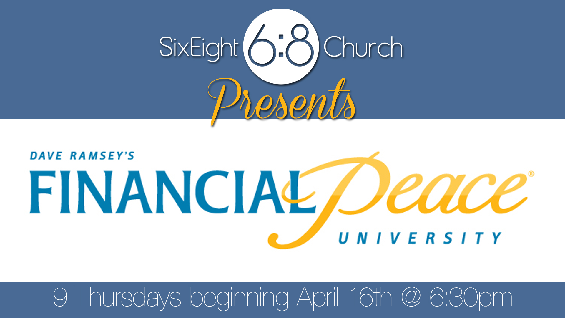 Financial Peace University – Spring 2015