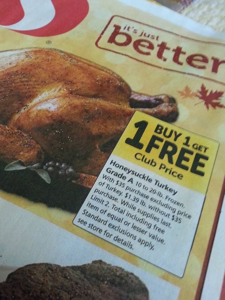 Turkey Deals 2015 for Vancouver WA
