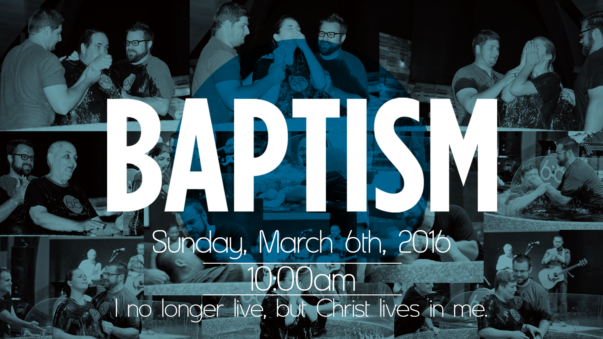 Baptism Sunday, March 6, 2016