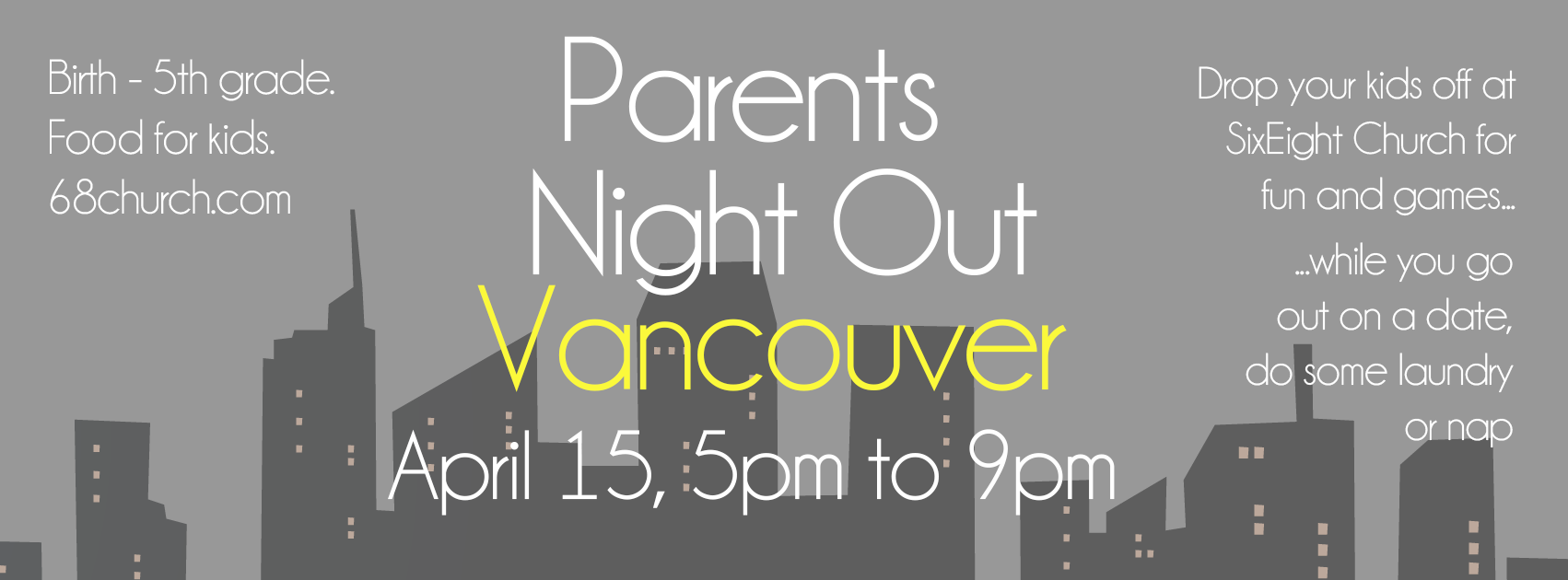 Parents Night Out, April 15, 2016