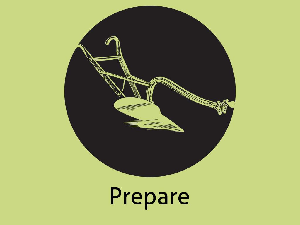 Daily Coaching Tip, Monday, June 06, 2016 (Preparing The Soil)