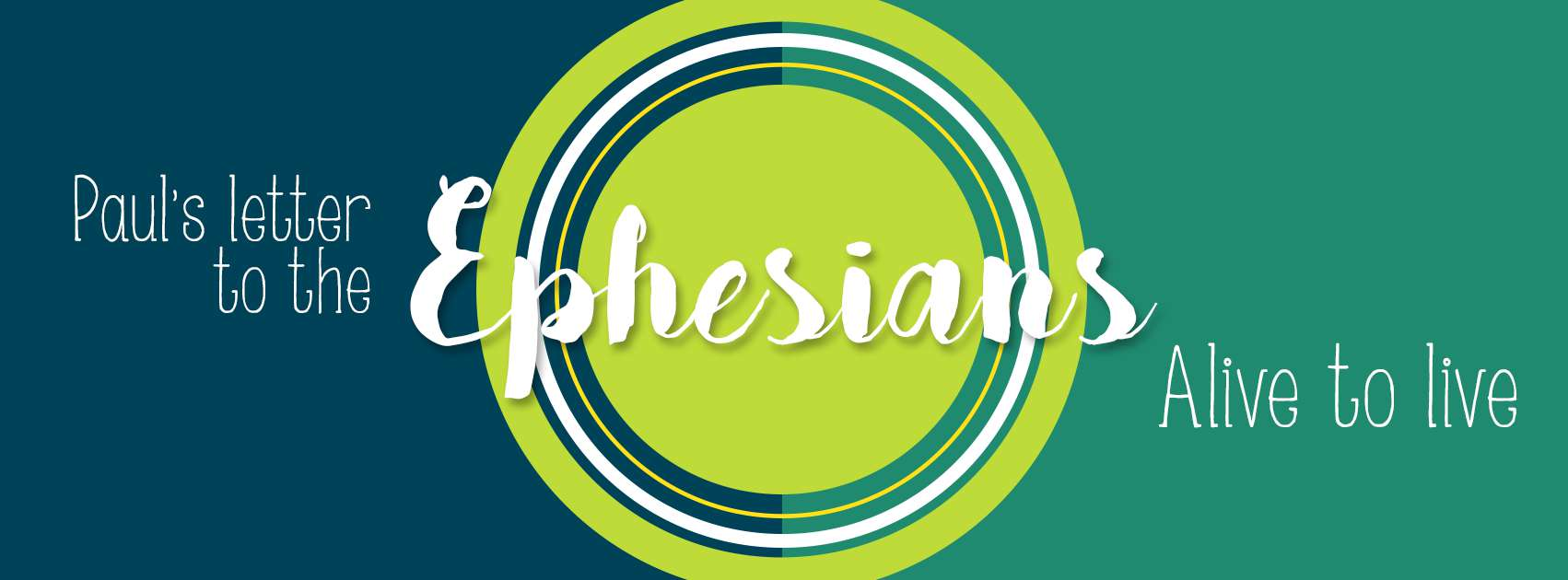 Ephesians: Alive To Live, Part 4: 2:1-10