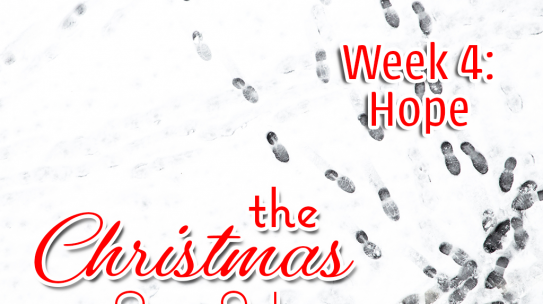 The Christmas Set Up, Week 4: Hope