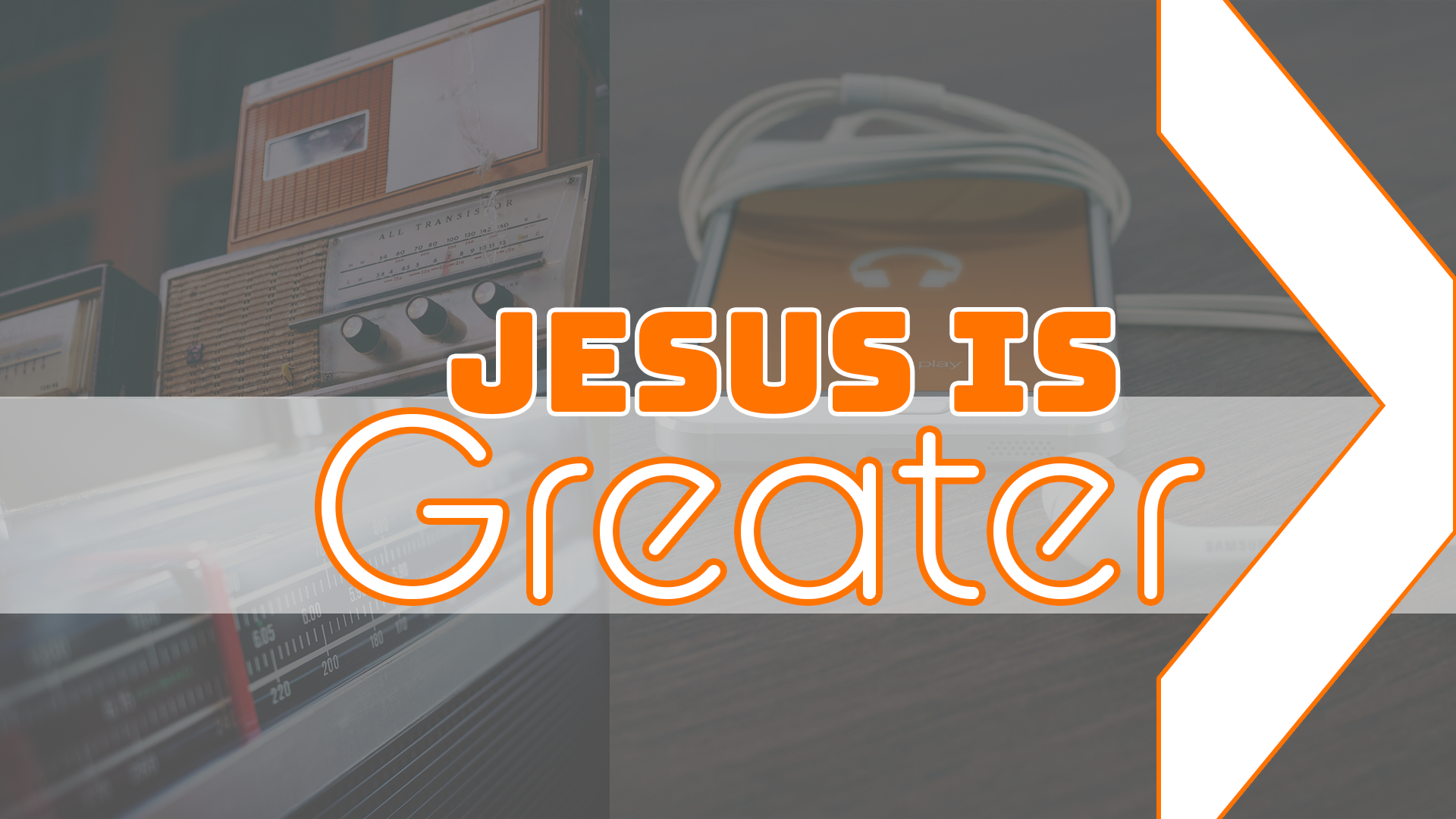 Jesus Is Greater, Part 8: Faith