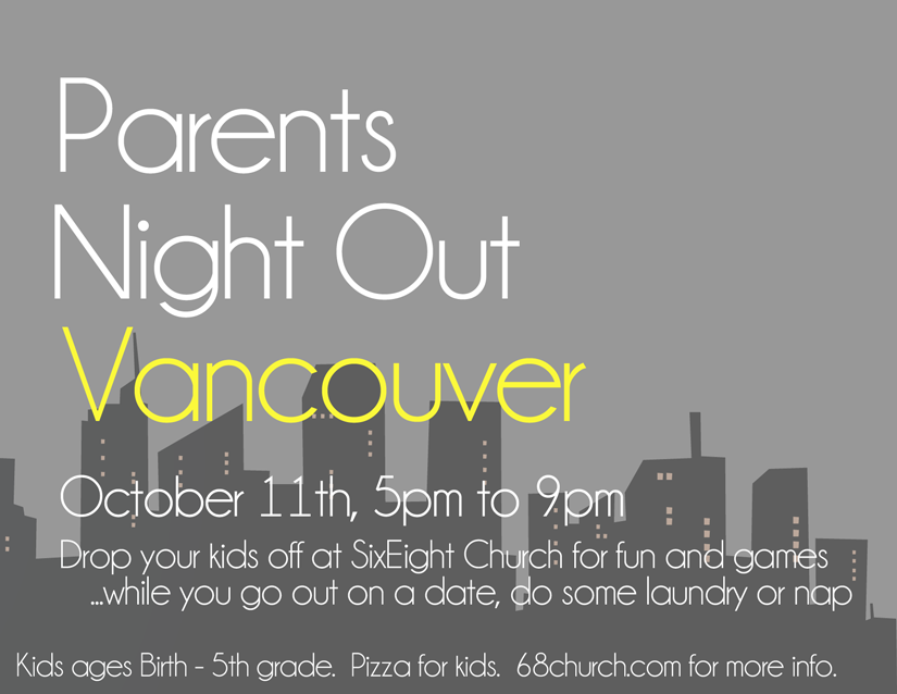 Parent's Night Out – October 11th, 2013
