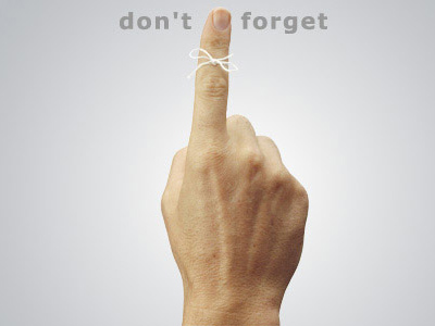 Have You Already Forgotten?