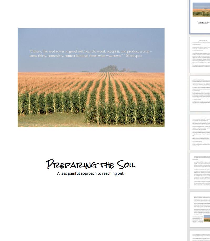"Download the ""Preparing the Soil"" ebook."