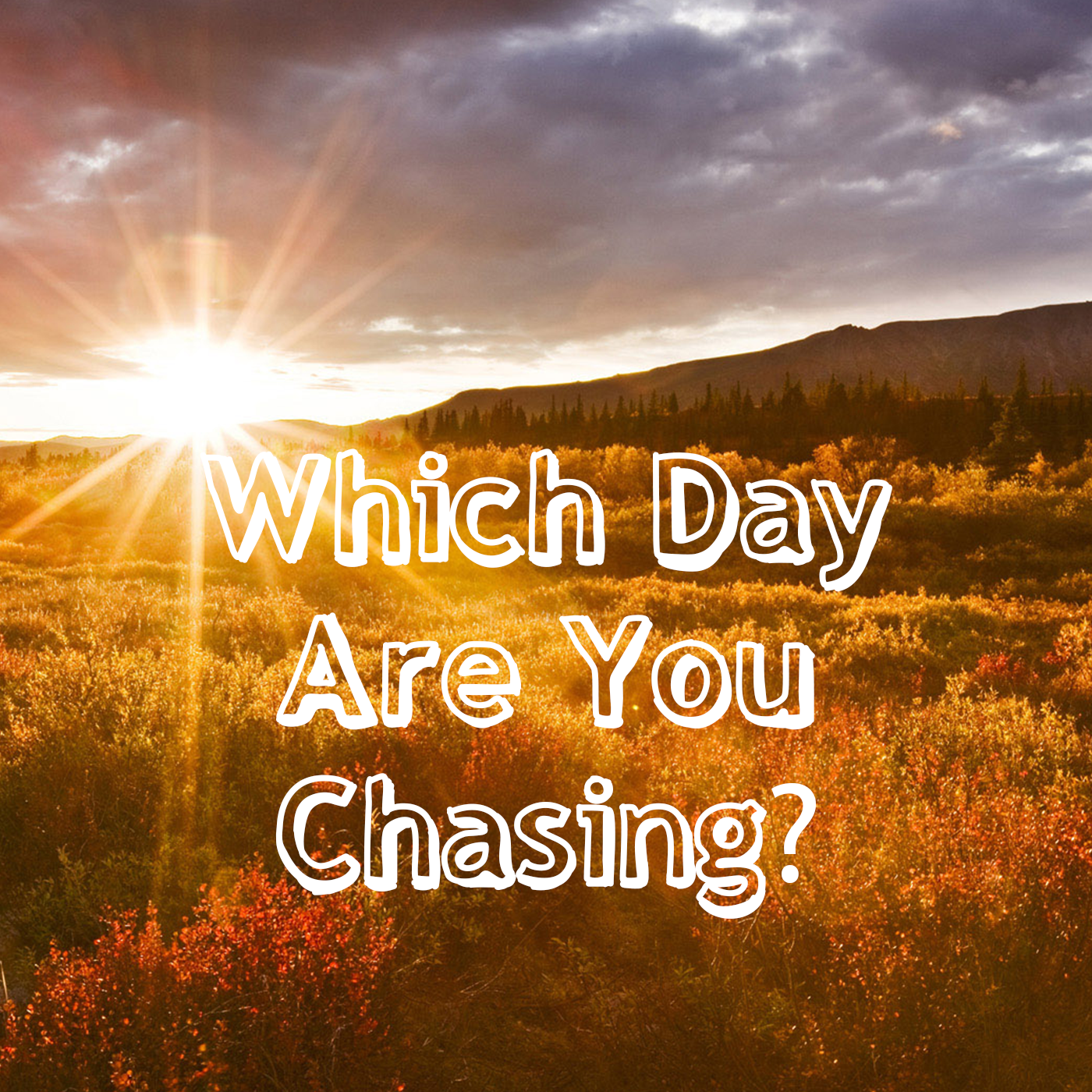 Which Day Are You Chasing?