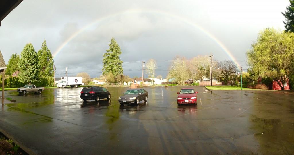 Rainbow Over SixEight
