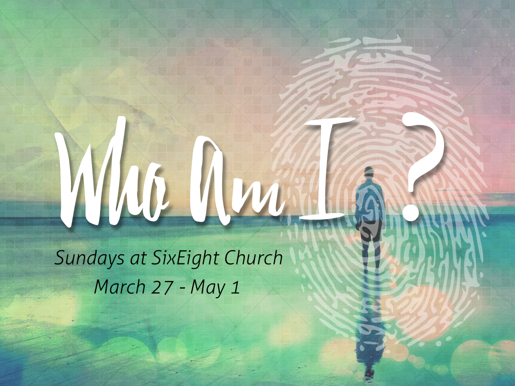 Who Am I - Title Graphic