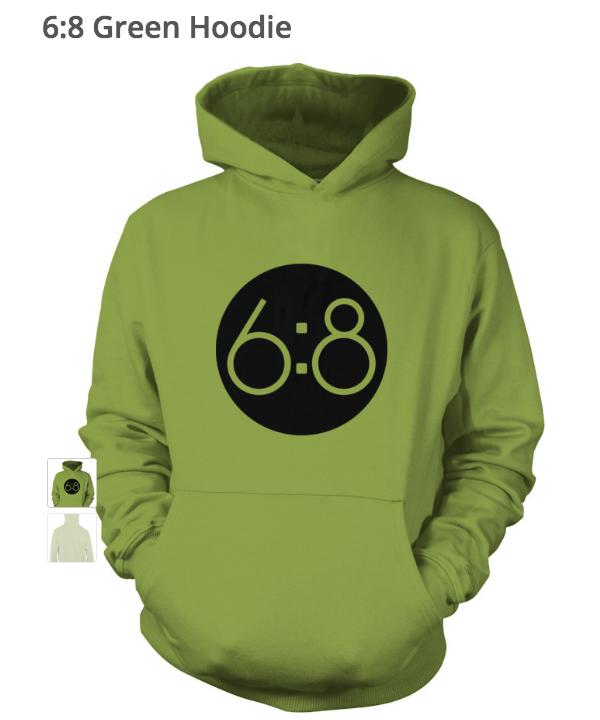 6-8 Green Hoodie