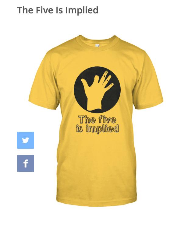 Five Is Implied