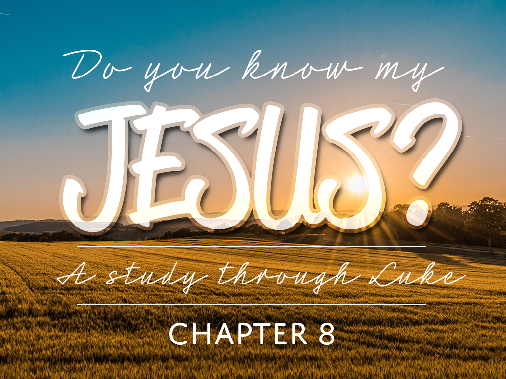 Do You Know My Jesus, Part 4: Restoration & Healing